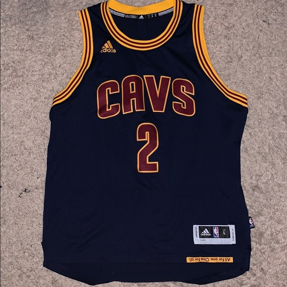 best service 58213 a719d Authentic Adidas x Cavaliers Kyrie Irving Jersey